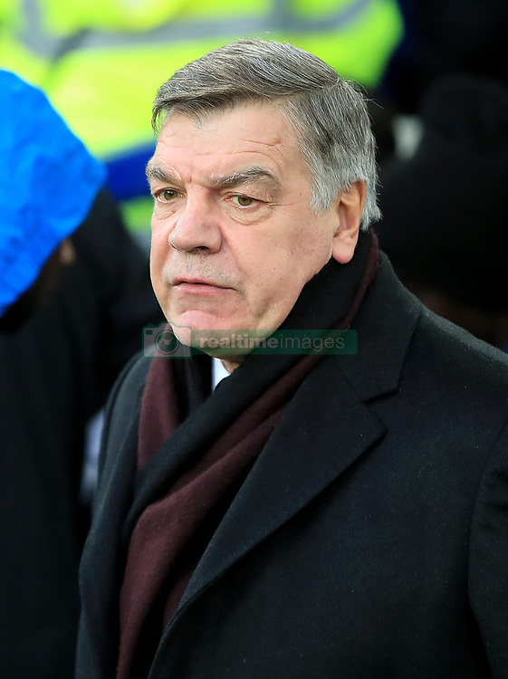 Everton manager Sam Allardyce before the Premier League match at Goodison Park, Liverpool