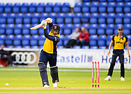 Cameron Delport of Essex in action today <br /> <br /> Photographer Simon King/Replay Images<br /> <br /> Vitality Blast T20 - Round 8 - Glamorgan v Essex - Friday 9th August 2019 - Sophia Gardens - Cardiff<br /> <br /> World Copyright © Replay Images . All rights reserved. info@replayimages.co.uk - http://replayimages.co.uk