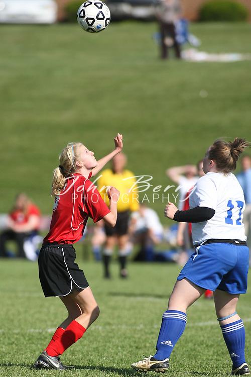 MCHS JV Girl's Soccer .vs George Mason .5/12/2009