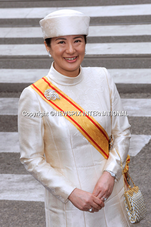 """30.04.2013; Amsterdam: KING WILLEM-ALEXANDER INAUGURATION.CROWN PRINCESS MASAKO OF JAPAN.attend King Willem-Alexander's inauguration at Nieuwe Kerk, Amsterdam, The Netherlands, .Mandatory Credit Photos: ©NEWSPIX INTERNATIONAL..**ALL FEES PAYABLE TO: """"NEWSPIX INTERNATIONAL""""**..PHOTO CREDIT MANDATORY!!: NEWSPIX INTERNATIONAL(Failure to credit will incur a surcharge of 100% of reproduction fees)..IMMEDIATE CONFIRMATION OF USAGE REQUIRED:.Newspix International, 31 Chinnery Hill, Bishop's Stortford, ENGLAND CM23 3PS.Tel:+441279 324672  ; Fax: +441279656877.Mobile:  0777568 1153.e-mail: info@newspixinternational.co.uk"""