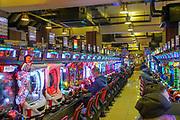 Kyoto, Japan gaming arcade