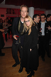 Actress NATALIE PRESS and actor RHYS IFANS at the Art Plus Drama party Held at the Whitechapel Art Gallery, London E1 on 8th March 2007. <br /><br />NON EXCLUSIVE - WORLD RIGHTS
