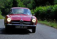 30/06/14 - VICHY - ALLIER - FRANCE - Essais ALFA ROMEO GIULIA SS de 1965 - Photo Jerome CHABANNE