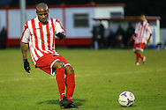 Frank Sinclair of Brackley Town during the Conference North match at St. James Park, Brackley<br /> Picture by David Horn/Focus Images Ltd +44 7545 970036<br /> 24/01/2015