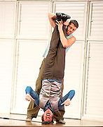 Justitia <br /> The Jasmin Vardimon Company <br /> at The Peacock Theatre, London, Great Britain <br /> Press photocall<br /> 16th September 2013 <br /> <br /> Christine Gouzelis<br /> <br /> David Lloyd<br /> <br /> Aoi Nakamura<br /> <br /> Esteban Fourmi<br /> <br /> Mafalda Deville<br /> <br /> Luke Burrough<br /> <br /> Paul Blackman <br /> <br /> jasmin Vardimon <br /> <br /> Photograph by Elliott Franks