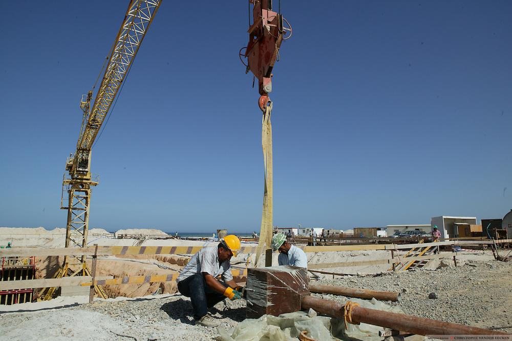 Wafa, Lybia, Oct 18, 2004, Wafa gaz project©Christophe VANDER EECKEN
