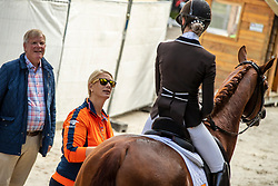 Van Liere Dinja, NED, Independent Little Me<br /> Ermelo - Weltmeisterschaft Junge Dressurpferde 2019<br /> Finale für 6 jährige Dressurpferde<br /> Final for 6 years dressage horses<br /> 04. August 2019<br /> © www.sportfotos-lafrentz.de/Dirk Caremans