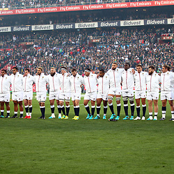 England Team during the 2018 Castle Lager Incoming Series 1st Test match between South Africa and England at Emirates Airline Park,<br /> Johannesburg.South Africa. 09,06,2018 Photo by (Steve Haag Sports)