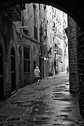 Alley Way Gothic Quarter Barcelona