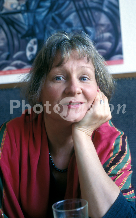 Portrait of middle aged woman UK