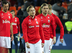 March 23, 2019 - Valencia, Valencia, Spain - Fossum of Norway in action during European Qualifiers championship, , football match between Spain and Norway, March 23th, in Mestalla Stadium in Valencia, Spain. (Credit Image: © AFP7 via ZUMA Wire)