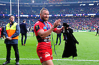 Joie Matt GITEAU - 02.05.2015 - Clermont / Toulon - Finale European Champions Cup -Twickenham<br />