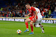 Wales defender Connor Roberts during the Friendly match between Wales and Belarus at the Cardiff City Stadium, Cardiff, Wales on 9 September 2019.