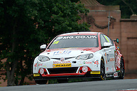 #116 Ashley Sutton GBR MG Racing RCIB Insurance MG6GT  during first practice for the BTCC Oulton Park 4th-5th June 2016 at Oulton Park, Little Budworth, Cheshire, United Kingdom. June 04 2016. World Copyright Peter Taylor/PSP.