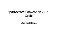 20150423 SAC2015 - SportAccord Award Show
