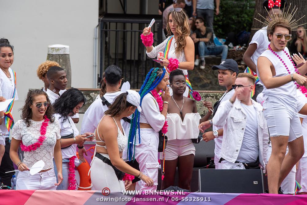 NLD/Amsterdam/20190803 - Gaypride 2019, Zoe Livay