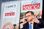 Warsaw, Poland - 2017 April 07: Boleslaw Samolinski - expert in public health / Warsaw University and Foundation for Healthy Aging speaks while The Day of Health - science conference in the National Library on April 07, 2017 in Warsaw, Poland.<br /> <br /> Mandatory credit:<br /> Photo by © © Adam Nurkiewicz / Mediasport / Mediasport<br /> <br /> Picture also available in RAW (NEF) or TIFF format on special request.<br /> <br /> Any editorial, commercial or promotional use requires written permission from the author of image.<br /> <br /> Adam Nurkiewicz declares that he has no rights to the image of people at the photographs of his authorship.