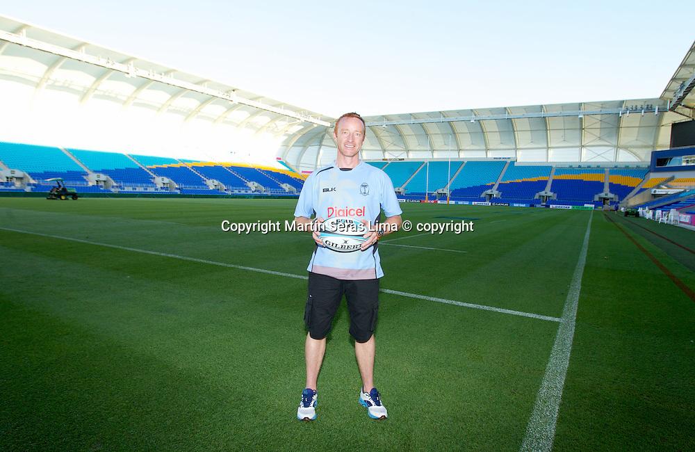 Ben Ryan - Fiji - Gold Coast Sevens 2013 - Australia - IRB - HSBC Sevens World Series - Photo Martin Seras Lima