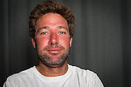 PORTUGAL, Lisbon. 31st May 2012. Volvo Ocean Race, Leg 7 (Miami-Lisbon) finish. Simon Fisher, Helmsman/Trimmer, Abu Dhabi Ocean Racing.