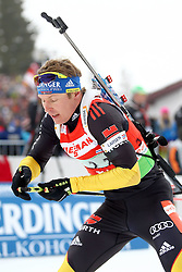 11.12.2011, Biathlonzentrum, Hochfilzen, AUT, E.ON IBU Weltcup, 2. Biathlon, Hochfilzen, Staffel Herren, im Bild Birnbacher Andreas (Team Germany) // during Team Relay  E.ON IBU World Cup 2th Biathlon, Hochfilzen, Austria on 2011/12/11. EXPA Pictures © 2011. EXPA Pictures © 2011, PhotoCredit: EXPA/ nph/ Straubmeier..***** ATTENTION - OUT OF GER, CRO *****