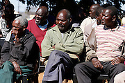 Mahonisi is a Shangan and Tsonga community in rural Limpopo. Their village is administered under a Traditional Authority that charges levies to them for letters of recognition so that they can access government services such as birth, marriage and death certificates. Other South African citizens not living under Traditional Authorities do not need to pay levies for these services and documents. <br /> <br /> Like many communities across the South Africa the Mahonisi community is frustrated with the lack of basic service delivery in their village. They do not know where the money they spend on levies goes. <br /> <br /> These photographs were taken at a community meeting with the Legal Resources Centre for legal advice regarding the practicalities of breaking way and forming their own Traditional Authority.<br /> <br /> Mahonisis Village, Gazankulu, Limpopo, South Africa<br /> <br /> &copy;Zute &amp; Demelza Lightfoot / Legal Resources Centre