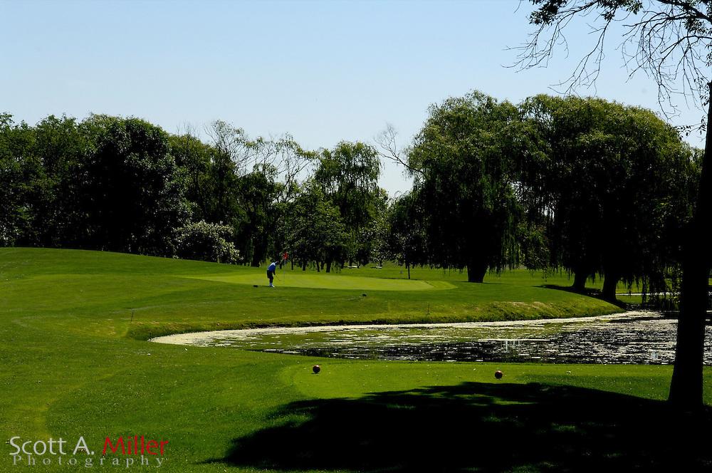 Bourbonnais, Ill.:  June 24, 2006 - No. 16 at Bon Vivant Golf Club  in Bourbonnais, Ill...Golfweek/Scott A. Miller