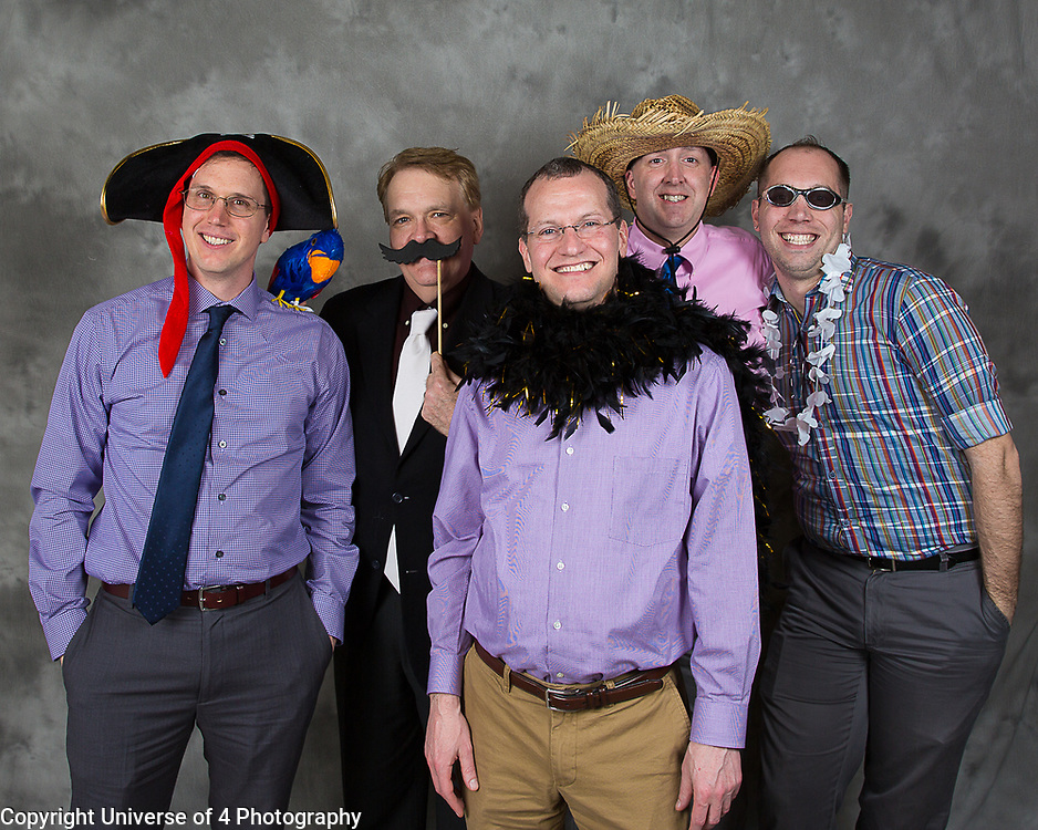 """Friends enjoying our """"open air"""" photo booth. This is included in all of our wedding packages. Your guest can have free formals and lots of fun!! Everyone gets involved."""