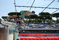 June 23, 2017 - Rome, Italy - Alex Bowen (GBR) competes in Men's 50 m Freestyle during the international swimming competition Trofeo Settecolli at Piscine del Foro Italico in Rome, Italy on June 23, 2017..Photo Matteo Ciambelli / NurPhoto  (Credit Image: © Matteo Ciambelli/NurPhoto via ZUMA Press)