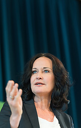 21.04.2017, Urania, Wien, AUT, Grüne, Sitzung des erweiterten Bundesvorstandes. im Bild Grüne Klubobfrau Eva Glawischnig // Leader of the parliamentary group the greens Eva Glawischnig<br />  during board meeting of the greens in Vienna, Austria on 2017/04/21. EXPA Pictures © 2017, PhotoCredit: EXPA/ Michael Gruber