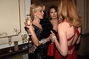 ELENA LIKHACH, ; NATALIA VODIANOVA; The Backstage Gala in aid of the Naked Heart Foundation. Coliseum theatre. London. 17 April 2015