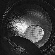 The oculus of the Fulton Center transit hub