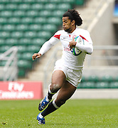 Twickenham, England.  Noel CATO, ENG vs POR.  at the London Sevens Rugby, Twickenham Stadium, (date} [credit Peter Spurrier/ Intersport Images]