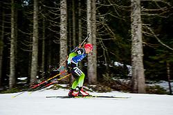 Polona Klemencic (SLO) during Women 15km Individual at day 5 of IBU Biathlon World Cup 2018/19 Pokljuka, on December 6, 2018 in Rudno polje, Pokljuka, Pokljuka, Slovenia. Photo by Ziga Zupan / Sportida