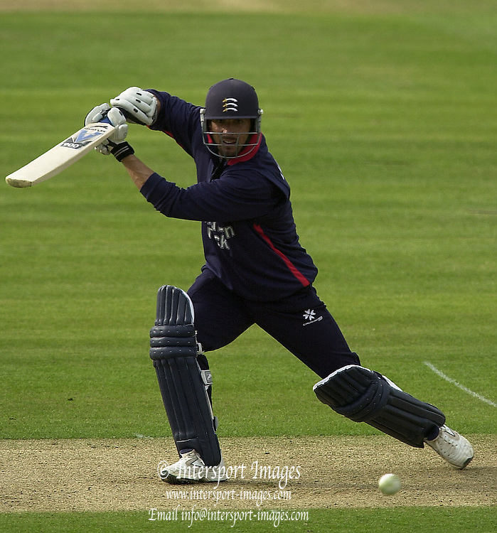 27/04/03  - Photo Peter Spurrier.2003 National Cricket League - Middlesex Crusaders v Derbyshire Scorpions, Paul Weekes. [Mandatory Credit:Peter Spurrier]..