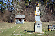 Bezidu Nou, Sangeorgiu de Padure, Romania. First world war memorial