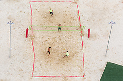 Recreational beach volley in the Paralympic Village 1 day ahead of the Rio 2016 Summer Paralympics Games on September 6, 2016 in Rio de Janeiro, Brazil. Photo by Vid Ponikvar / Sportida