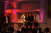 Razorlife, The Q Awards 2004, Grosvenor House, London. 4 October 2004. ONE TIME USE ONLY - DO NOT ARCHIVE  © Copyright Photograph by Dafydd Jones 66 Stockwell Park Rd. London SW9 0DA Tel 020 7733 0108 www.dafjones.com