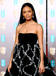 Thandie Newton attending the 72nd British Academy Film Awards held at the Royal Albert Hall, Kensington Gore, Kensington, London.