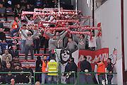 DESCRIZIONE : Campionato 2014/15 Dinamo Banco di Sardegna Sassari - Giorgio Tesi Group Pistoia<br /> GIOCATORE : Baraonda Biancorossa<br /> CATEGORIA : Tifosi Ultras Spettatori Pubblico<br /> SQUADRA : Giorgio Tesi Group Pistoia<br /> EVENTO : LegaBasket Serie A Beko 2014/2015<br /> GARA : Dinamo Banco di Sardegna Sassari - Giorgio Tesi Group Pistoia<br /> DATA : 01/02/2015<br /> SPORT : Pallacanestro <br /> AUTORE : Agenzia Ciamillo-Castoria / Luigi Canu<br /> Galleria : LegaBasket Serie A Beko 2014/2015<br /> Fotonotizia : Campionato 2014/15 Dinamo Banco di Sardegna Sassari - Giorgio Tesi Group Pistoia<br /> Predefinita :