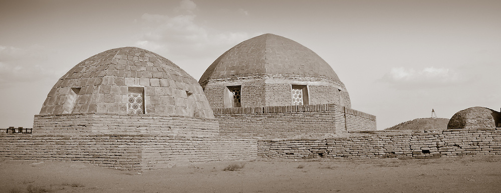 """Necropolis"", is a collection of images taken at grave sites throughout Uzbekistan."
