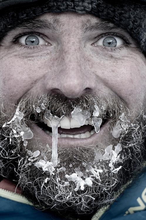 Chris Edmands, filmer, Further expedition, Austria.