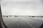 wet tarmac at Munich airport