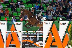 Sarah Ennis, (IRL), Horseware Stellor Rebound - Jumping Eventing - Alltech FEI World Equestrian Games™ 2014 - Normandy, France.<br /> © Hippo Foto Team - Leanjo De Koster<br /> 31-08-14