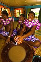 Kava ceremony, Yanuya Village, Yanuya Island, Fiji Islands