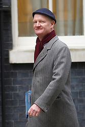 © licensed to London News Pictures. London, UK 21/01/2014. David Willetts attending to a cabinet meeting on Downing Street on Tuesday, 21 January 2014. Photo credit: Tolga Akmen/LNP