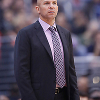 16 November 2013: Brooklyn Nets head coach Jason Kidd is seen during the Los Angeles Clippers 110-103 victory over the Brooklyn Nets at the Staples Center, Los Angeles, California, USA.