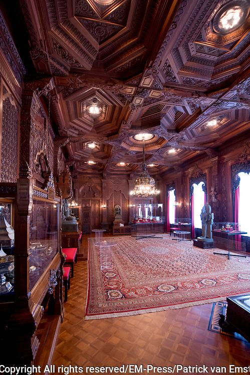 Openstelling Paleis Noordeinde en het Koninklijk Staldepartement<br /> <br /> Op de foto:  Indische zaal