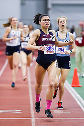 ECAC/IC4A Track and Field Indoor Championships<br /> 800 meters, Richmond, Maria Acosta