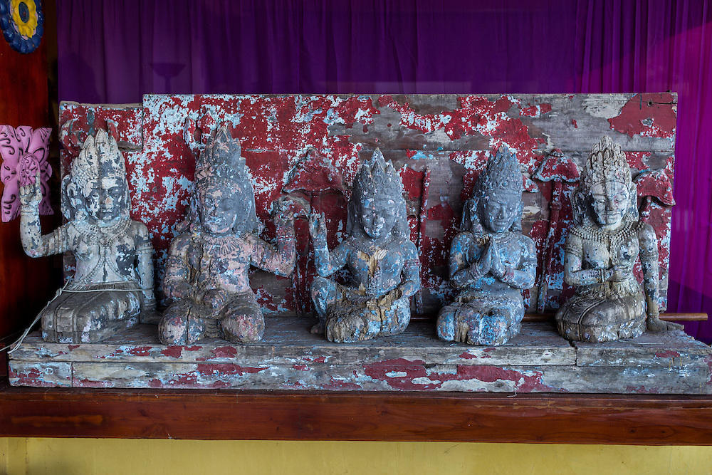 Decoration inside Tugu Hotel.