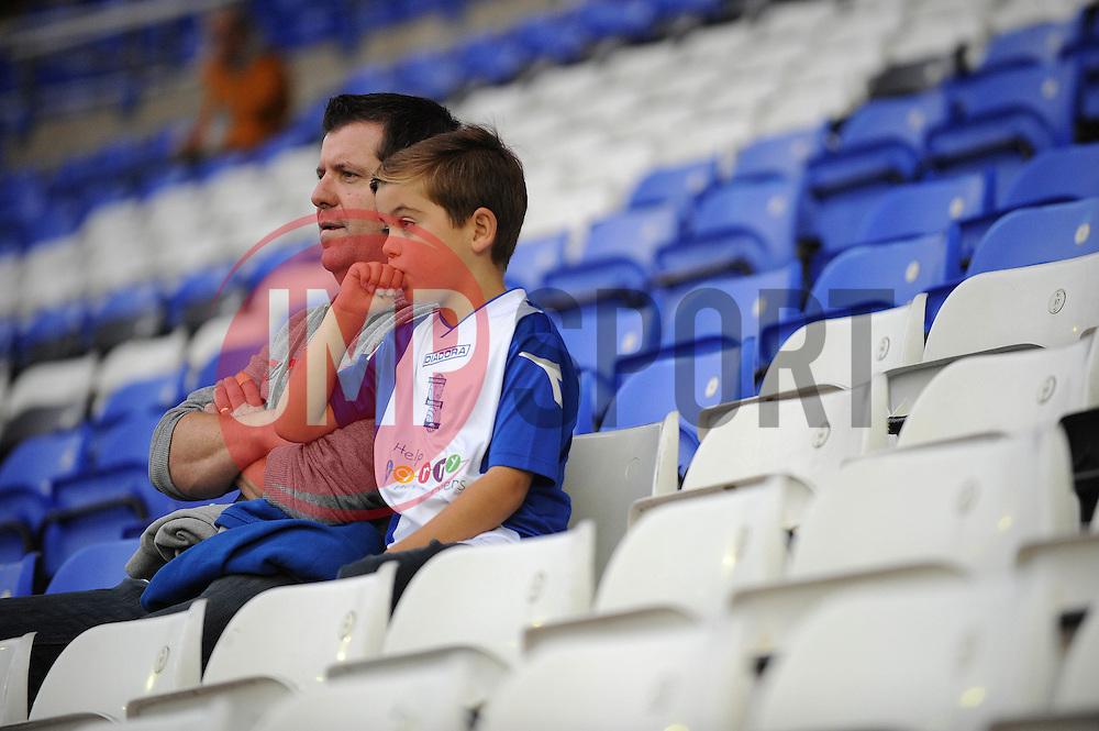 Birmingham City fans - Photo mandatory by-line: Dougie Allward/JMP - Mobile: 07966 386802 27/08/2014 - SPORT - FOOTBALL - Birmingham - St Andrews Stadium - Birmingham City v Sunderland - Capital One Cup